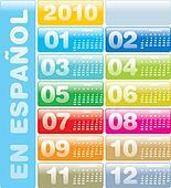 Calendar 2010 en Spanish
