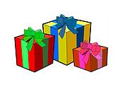 Birthday or christmas presents