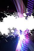 Grungy Splatter Layout