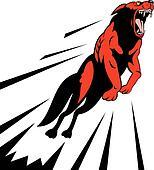 Wolf attack jump