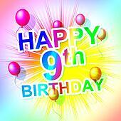 Happy Birthday Shows Party Congratulations And Congratulation
