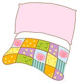 Pillow and quilt