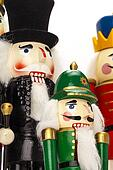 Tall and Short Nutcrackers