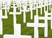 white cross grave