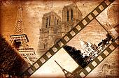 memories about Paris - vintage style