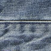 blue jeans texture, stitch