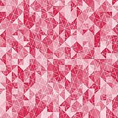 Abstract crystal red triangle background. Vector illustration