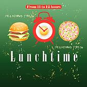 Advertise lunch