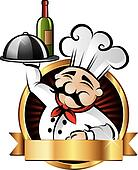 Cheerful Chef Illustration