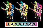 Las Vegas Showgirl Dancers 1
