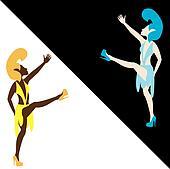 Las Vegas Showgirl Dancers 5