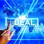 Deal Map Displays Worldwide or International Dealings