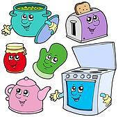 Kitchen cartoons