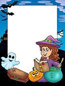 Halloween frame 4