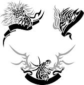 Tattoo with templates