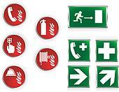 Emergency symbols