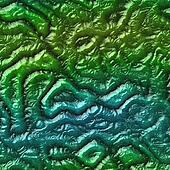 Alien skin organic seamless generated hires texture