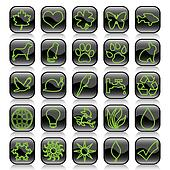 Icon set-ecology