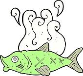 Smelly clip art royalty free gograph for Diarrhea smells like fish