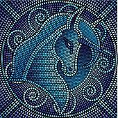 Mosaic Clip Art - Royalty Free - GoGraph
