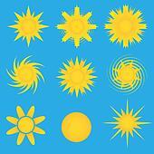 Sun icon-Sunny