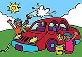 car wash fundraiser ethnic