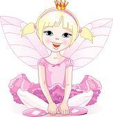 Little  fairy ballerina