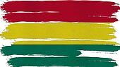 Bolivia Flag tinted horizontal texture