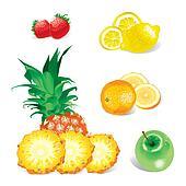 Fruits (vector)