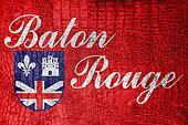 Flag of Baton Rouge, Louisiana
