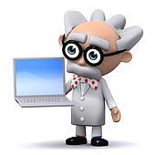 3d Scientist computes