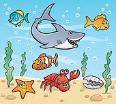 Sea Life Scene