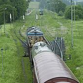 trains, Nowy Lupkow, Poland