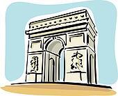Paris (Arc de Triomphe)