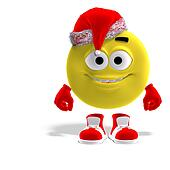 cool and funny emoticon for christmas