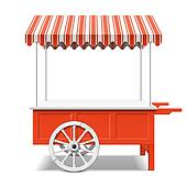 Market Stall Clip Art - Royalty Free - GoGraph