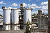 Cement Factory Silos