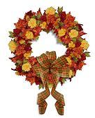 Autumn Fall Floral wreath