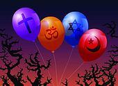 Balloons Religion