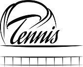 Tennis Ball Banner