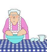 Grandma Baking