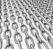 Chains in rows
