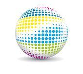 retro party ball
