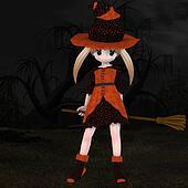 Little Hallowen Witch #03
