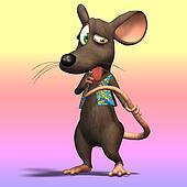 Cartoon Mouse or Rat #10