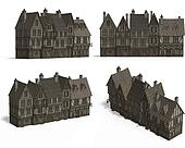 Row of Medieval Houses