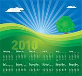 Landscape Calendar 2010