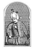 Selim I, engraving middle ' 800