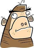Cartoon Ape