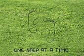 move forward, one step at a time: footprint design